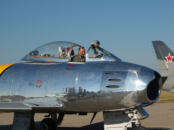 F-86 SABRE JET FIGHTER