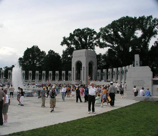 WWII MEMORIAL, WASHINGTON D.C.